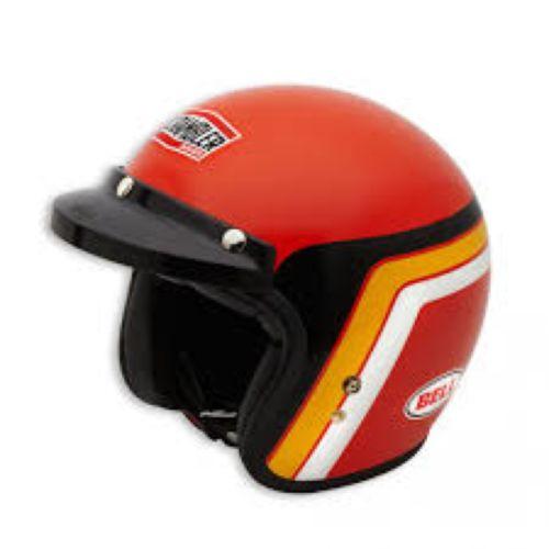 Ducati Orange Track Helmet