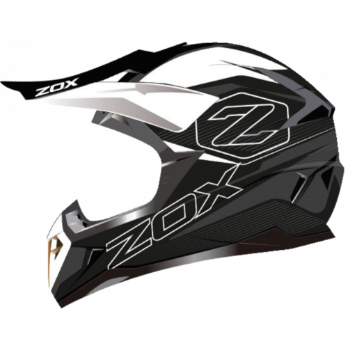 Zox Pulse Junior Drift Off Road Helmet