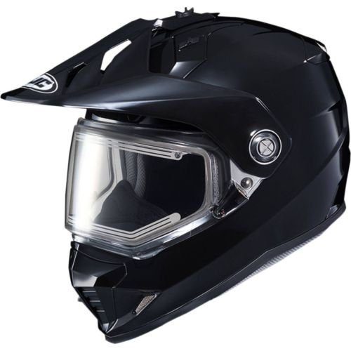 HJC DS-X1 Solid Snow Helmet with Dual-Lens Electric Shield