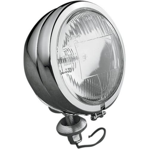 "DRAG Specialties Late-Style 4 1/2"" Halogen Spotlamp"