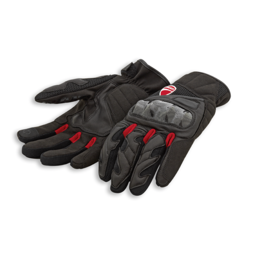 Ducati City C3 Fabric-Leather Gloves