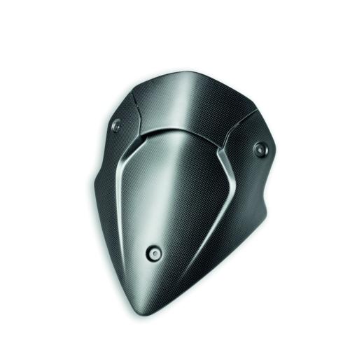 Ducati Multistrada Carbon Headlight Fairing - Matte