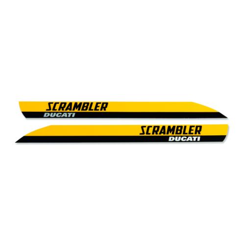 Ducati Set of Scrambler Full Throttle Logos