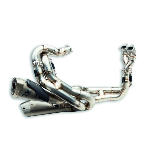 DUCATI STREETFIGHTER V4 COMPLETE TITANIUM EXHAUST SYSTEM