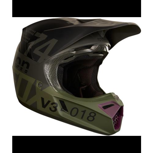 Fox V3 Draftr Helmet