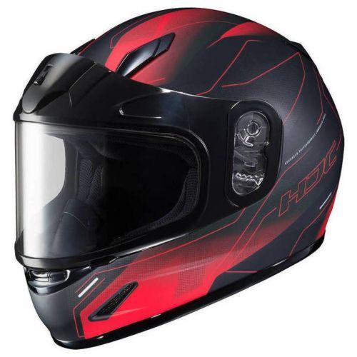 HJC Youth CL-Y Taze Snow Helmet with Dual-Lens Shield
