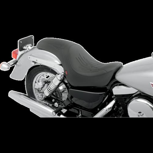 Z1R Predator Seat: Flame Stitch (Kawasaki VN800 Vulcan Classic/Custom 95-05)