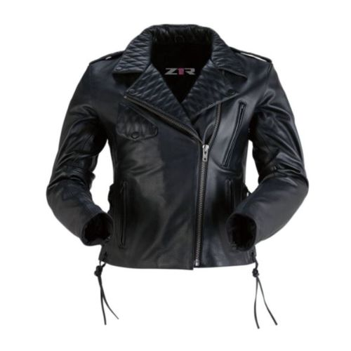 Z1R Womens Forge Leather Jacket