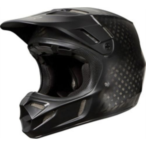 Fox V4 Matte Carbon Helmet