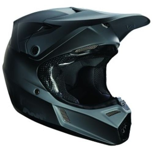 Fox V3 Matte Black Youth Helmet