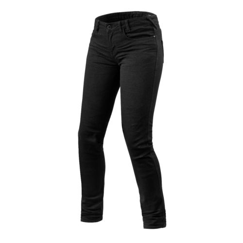 REV'IT! Jeans Maple Ladies Skinny Fit Jean Inseam 32'' Black