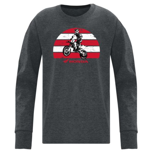 Honda Youth Long Sleeve Cotton Shirt