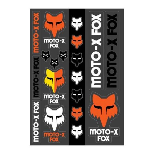 Fox 2020 Heritage Track Pack Stickers