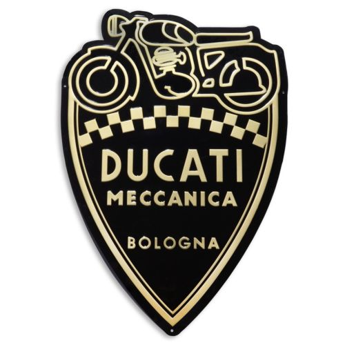 Ducati Shield Metal Insignia