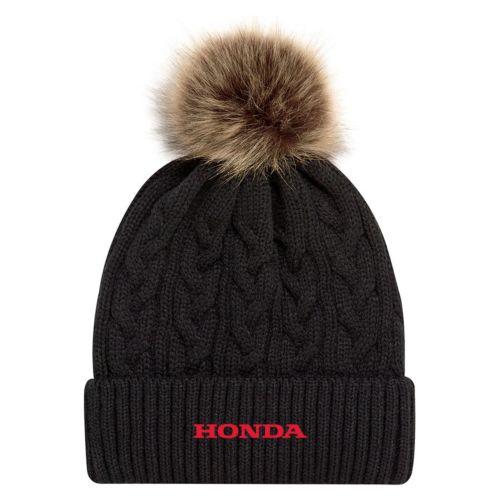 HONDA GEAR LADIES' FUR POM TOQUE