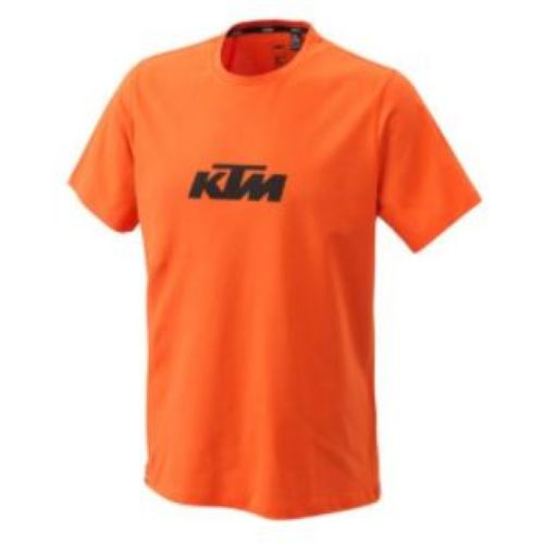 KTM PURE LOGO TEE ORANGE