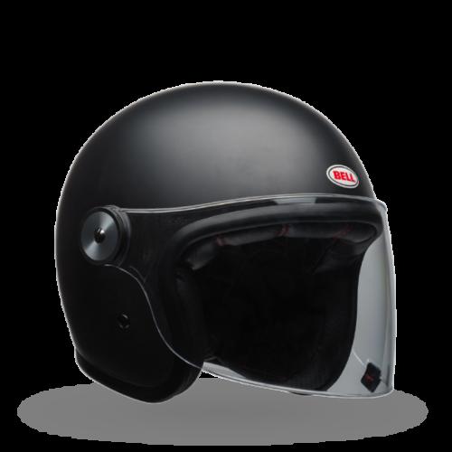 Bell Riot Solid Open Face Helmet