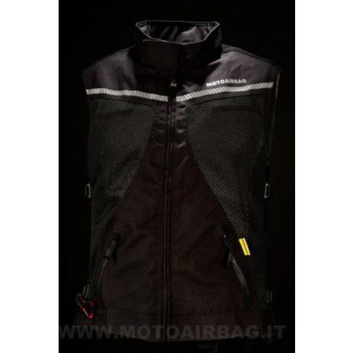 MOTOAIRBAG VENTED BACK PROTECTOR
