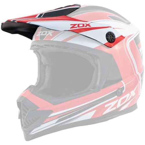 Zox Rush Lucid Off Road Helmet Replacement Peak