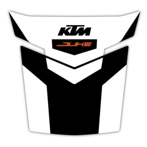 KTM Black and White Tank Pad