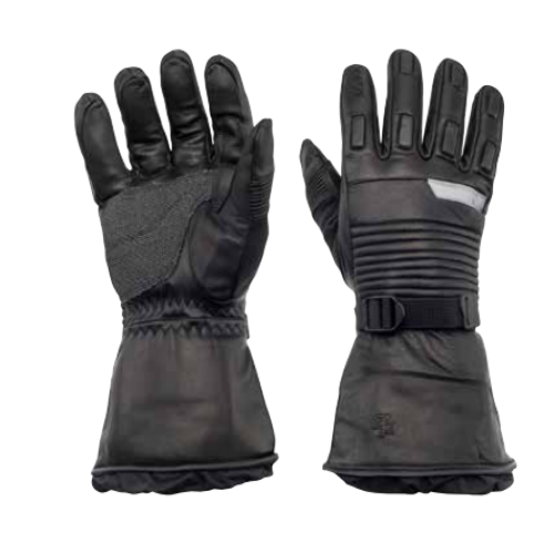 "Zero Factor ""Hi grip"" leather gloves"