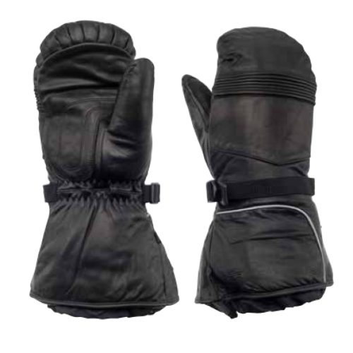 "Zero Factor ""Hi Grip"" leather mitts"
