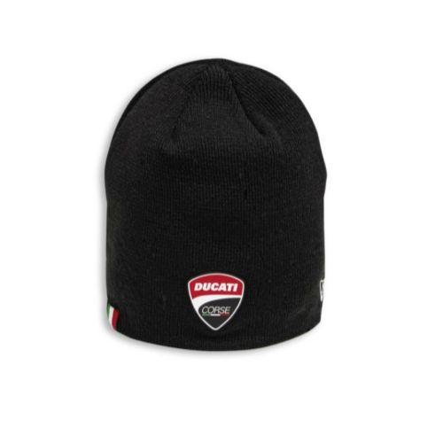 Ducati Corse Total Black Beanie