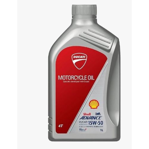 Shell Advance Ultra 4T 15w-50 Performance Synthetic Bike Engine Oil - 1 Litre