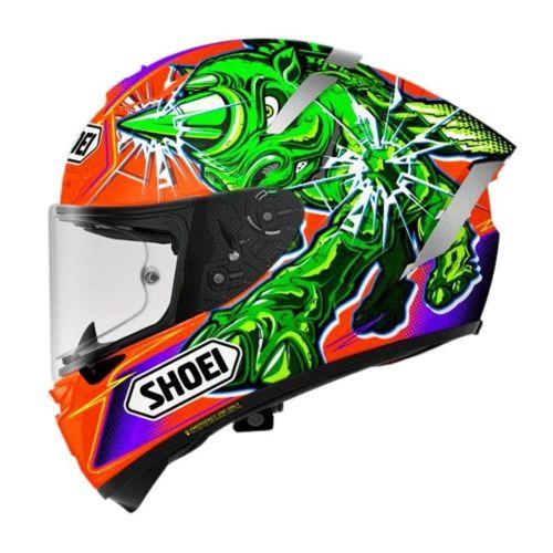 Shoei X-14 Power Rush Full Face Helmet