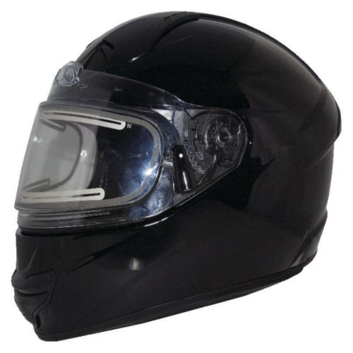 Zox Thunder S2 Solid Snow Full Face Helmet (Electric Shield)