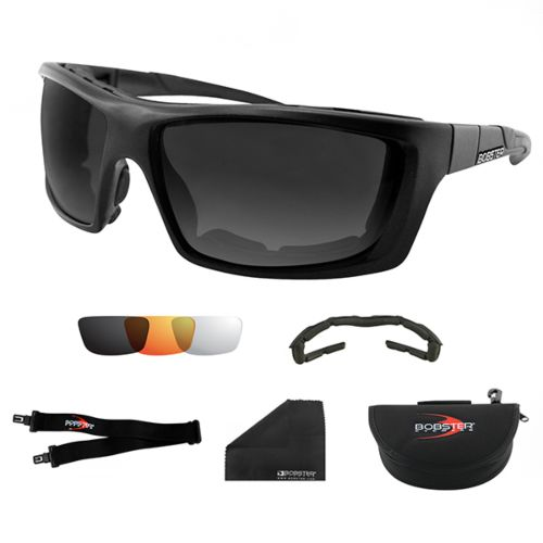Bobster Trident Polarized Convertible Sunglasses