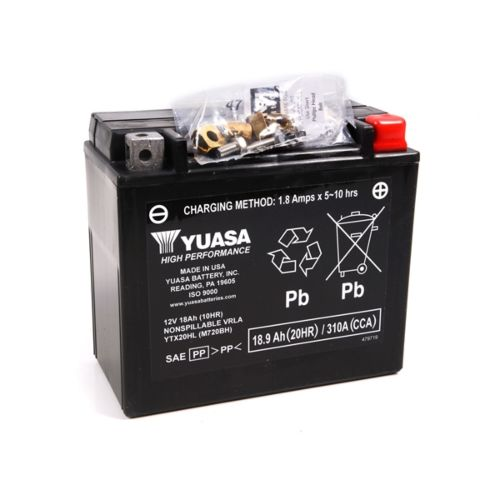 Yuasa Battery Maintenance Free AGM Factory Activated YTX20HL-F/A