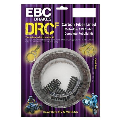 EBC  Clutch Kit - DRCF Series Fits Kawasaki, Fits Suzuki - Carbon fiber