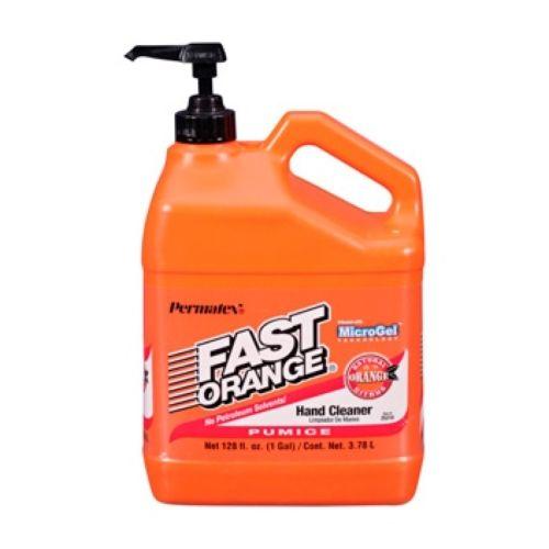 PERMATEX Pumice Lotion Hand Cleaner - Fast Orange 3.78 L / 0.79 G