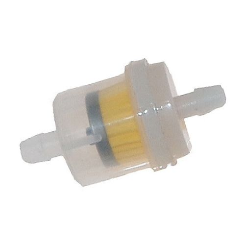 Outside Distributing Fuel Filter, 1/4 Straight Universal