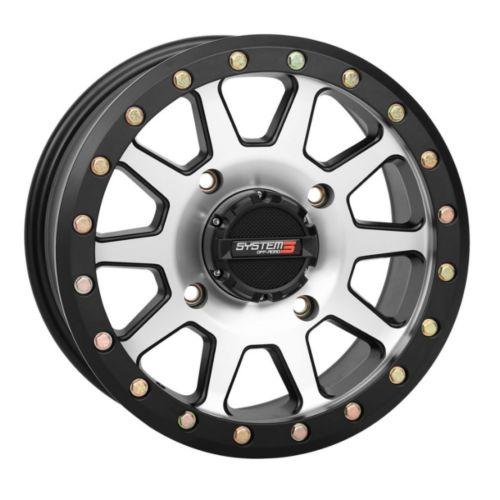 SYSTEM 3 OFF-ROAD SB-3 Beadlock UTV Wheel 14x7 - 4/110 - 5+2