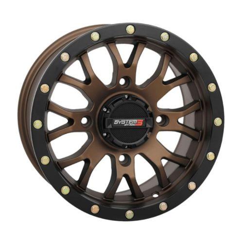 SYSTEM 3 OFF-ROAD ST-3 Simulated Beadlock UTV Wheel 14x7 - 4/156 - 5+2