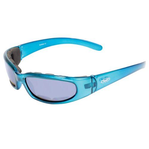 GLOBAL VISION Chicago FM Sunglasses Blue