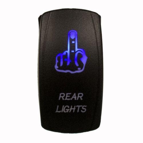 Dragon Fire Racing Finger Rear Lights Switch Rocker - 390294