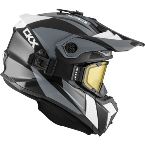 CKX Titan Original Backcountry Helmet, Winter Sidehill - Included 210° Goggles