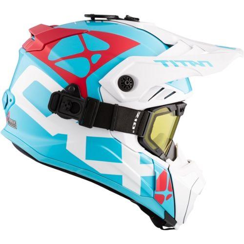 CKX Titan Air Flow Backcountry Helmet, winter Steep - Included 210° Goggles