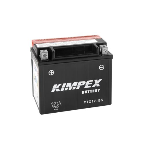 Kimpex Battery Maintenance Free AGM YTX12-BS