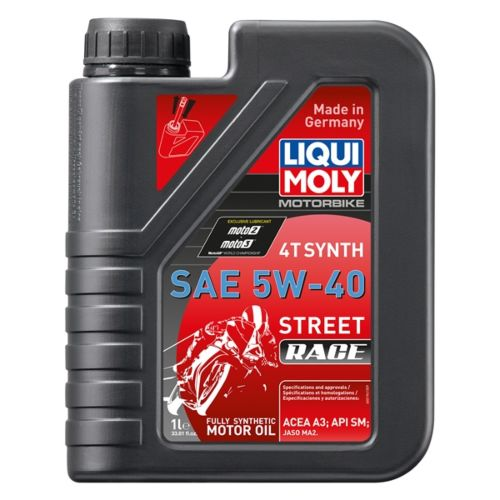 Liqui Moly Oil 4T Synthetic Street Race 5W40