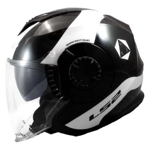 LS2 Verso Open-Face Helmet Rave