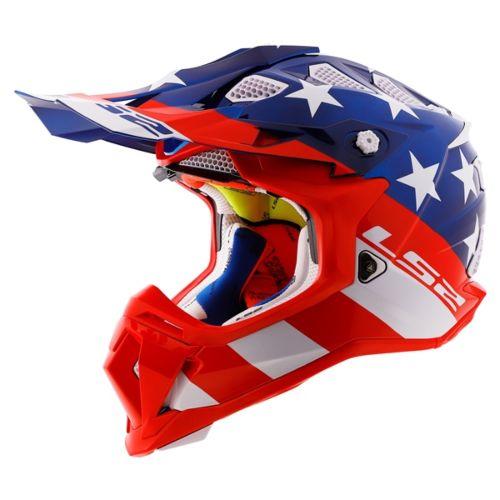 LS2 Subverter Off-Road Helmet Chrome