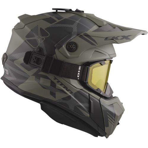 CKX Titan Original Backcountry Helmet, Winter Climb - Included 210° Goggles
