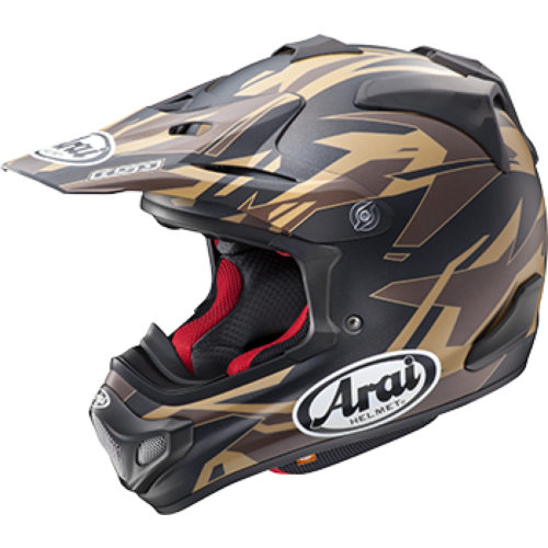 Arai VX-PRO4 Dazzle Helmet Brown 2XL