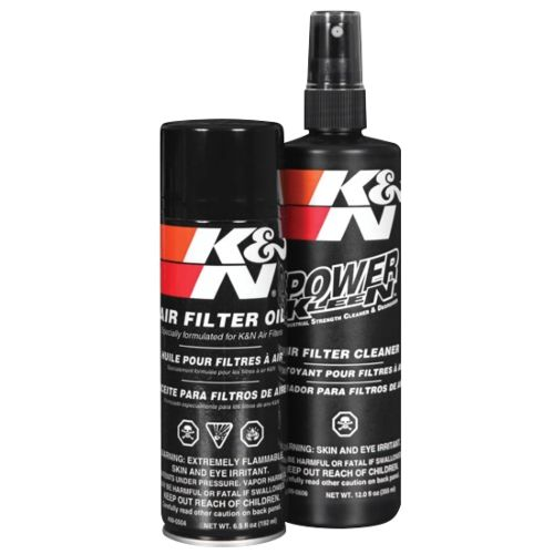 K&N Air Filter Oil and Cleaning N/A