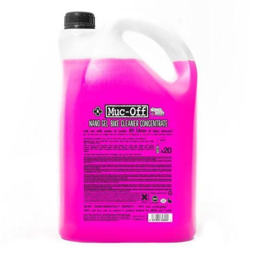 Muc-Off Bio Nano Gel Concentrate Cleaner 5 L / 1.32 G, 169 oz