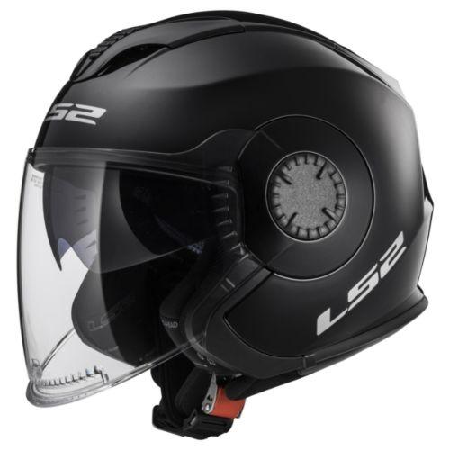 LS2 Verso Open-Face Helmet Solid